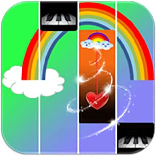 Beautiful Rainbow Piano Game