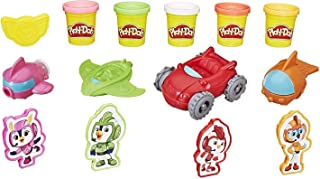Play-Doh Top Wing Cadet Creations Toolset with 5 Non-Toxic Colors