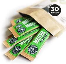 Jade Leaf Matcha Green Tea Powder - Ceremonial Single Serves Stick Packs- USDA Organic, Authentic Japanese Origin - Antioxidants, Energy [30 Count]