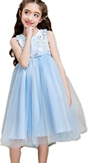 MissとMr 子供ドレス 女の子 ロングドレス ワンピース 花びら フォーマル 結婚式 ピアノ発表会 入学式 七五三 パーティー