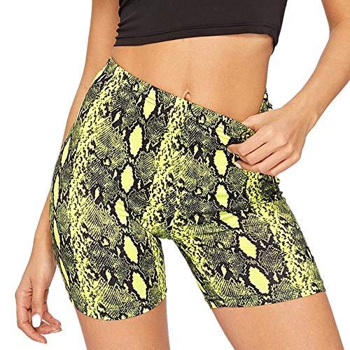 NIGHTMARE Pantalones de Yoga para Mujer con Cintura Alta Control de Barriga Entrenamiento Correr Estiramiento Leggings de Yoga Leggings para Mujeres M