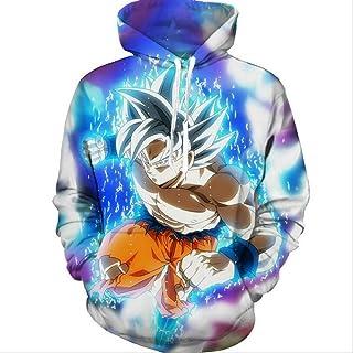 New Dragon Ball Z Son Goku Super Saiyan 3D Hooded Anime Hoodie Sweatshirt