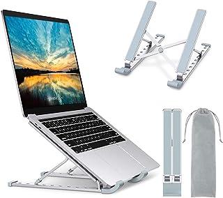 Babacom Support Ordinateur Portable, Support PC Portable à 9 Niveaux Réglables, Refroidisseur en Aluminium Ventilé Compati...