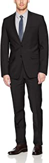 Men's Slim Fit Stretch Wool Suit