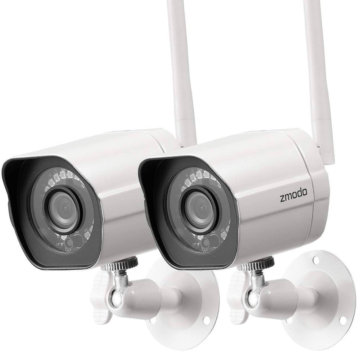 Finally resale start Zmodo 1080p Full HD Indefinitely Outdoor Wireless Camera Security P 2 System