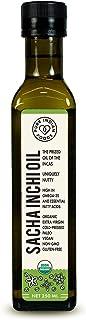 Pure Indian Foods Organic Cold-Pressed Sacha Inchi Oil, 8.5 oz