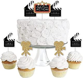 hollywood cupcake decorations
