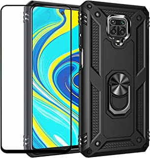 Strug for Xiaomi Redmi Note 9S/Note 9 Pro/Note 9 Pro Max Case,Hybrid Armor Heavy Duty Shockproof Protection Built-in 360 R...