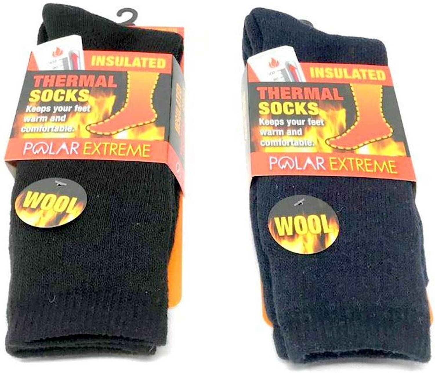 013db54aa WOOL Men's Men's Men's Polar Extreme Insulated Thermal Winter Socks Size  10-13 Soft Warm WOOL 9197a1