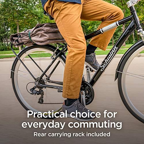 61BlW4s3PQL. SL500 Schwinn Discover Hybrid Bike for Men and Women