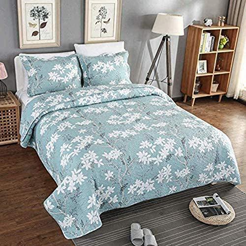 FGDSA Gesteppte Tagesdecke Boutis Patchwork Quilts Imprim und Eacute; und Eacute; L und Eacute; Gant Bedspread 3 Zimmer Multifunktions-Ganzjahres-Bettbezüge aus Sofa