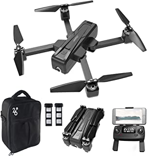 GoolRC JJRC X11 GPS RC Drone with 2K HD Camera 5G WiFi FPV Drone Optical Flow Positioning Follow Me Altitude Hold Brusheless Foldable RC Quadcopter with 2 Battery and Handbag