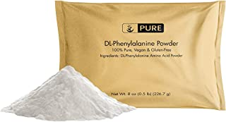 Sponsored Ad - 100% Pure DL-Phenylalanine Powder, 375 mg Servings, Vegan & Gluten-Free, Made in The USA & Lab-Tested, Natu...