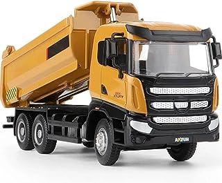Construction Dump Truck Toy Diecast Alloy Dump Truck Models Construction Toy Vehicles, Collections, Gifts, Toys, Ornaments