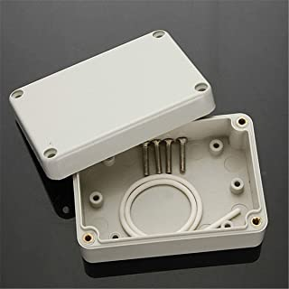 dDanke Waterproof Plastic Project Box IP65 Junction Boxes ABS Electronic Enclosure Case Gray (100x68x50mm)