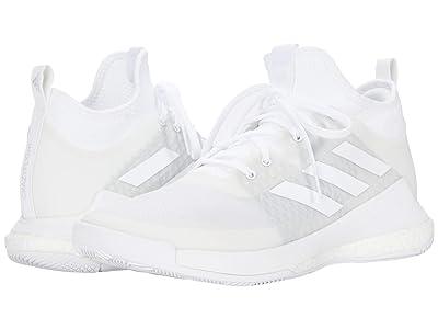 adidas Crazyflight Mid (Footwear White/Footwear White/Footwear White) Women
