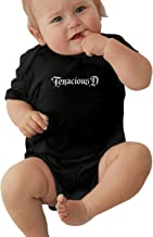 Gfhre64DFFD Tenacious D Cartoon Baby Bodysuit Short Sleeves Unisex Baby Creeper One-Piece Newborn Bodysuits