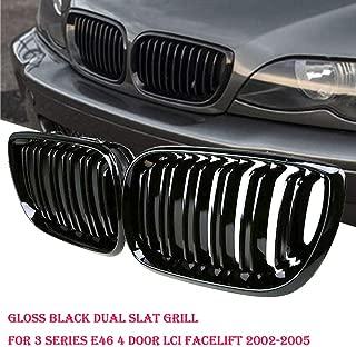 B M W 5 Series 2010-2016 GT F07 m Power m sport Tech Bonnet Hood Rene griglia Trim fibbia clip in inserti a righe strisce copertura decorazione