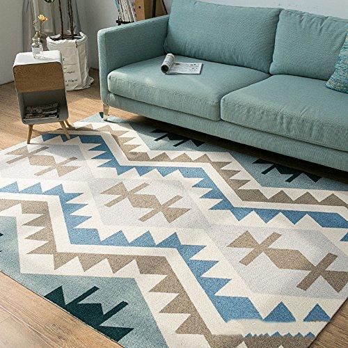 BWS_________ Woonkamer salontafel geometrisch patroon vloermatten Kinderen kruipen software vloermat