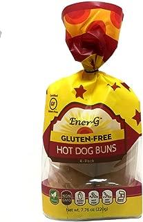 Ener-G Tapioca Hot Dog Buns - 7.76 oz