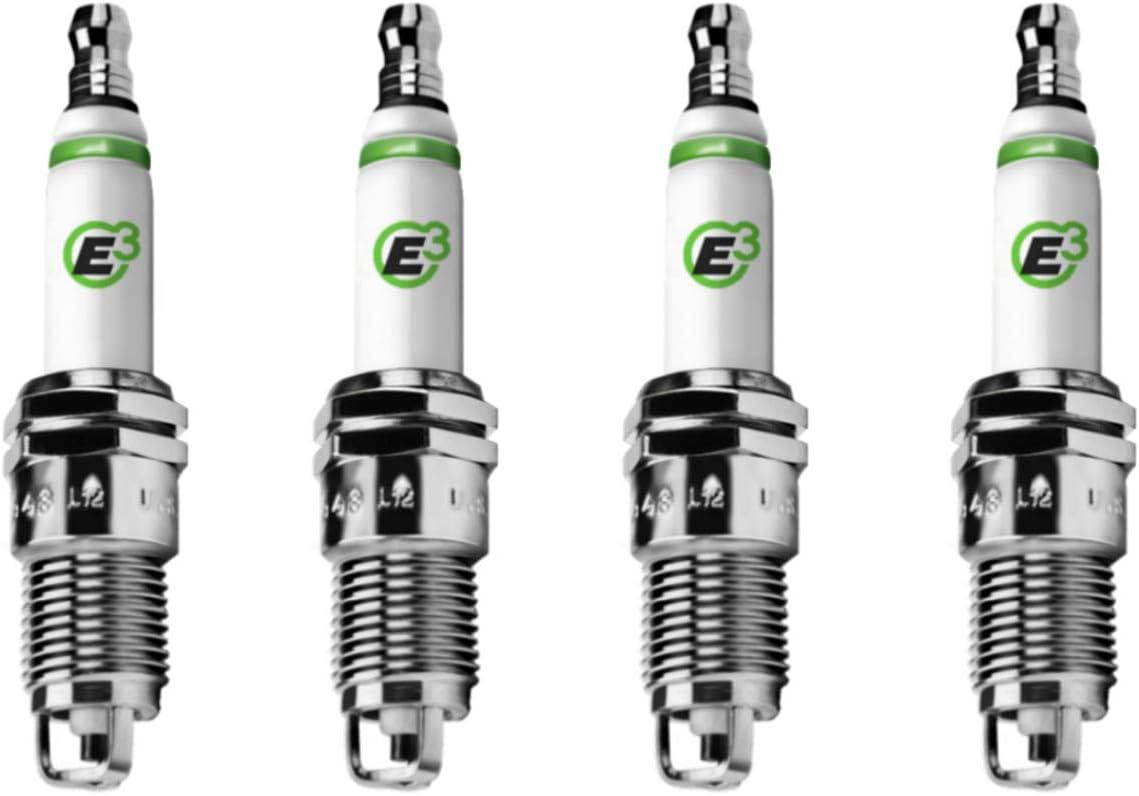 E3.44 E3 Premium Japan's largest assortment Automotive Spark Plugs 4 Ranking TOP16 PACK - miles 100K