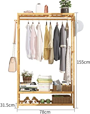 Amazon.com: Qfgis - Perchero de pared para dormitorio ...