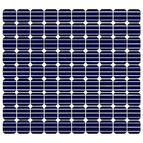 MK-Digital Aufkleber Sticker für SelfSat Flachantenne HD50 Serie mit Solar Panel Motiv