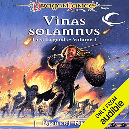 Vinas Solamnus audiobook cover art