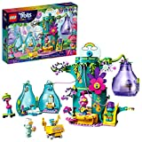 Product Image of the LEGO Trolls World Tour Pop Village Celebration 41255 Trolls Tree House Building...