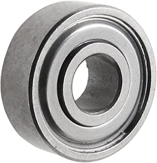 uxcell ボールベアリング 深溝玉軸受 メタル製 内径4mm 1個 4mm x 11mm x 4mm
