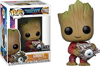 Funko POP! Marvel Guardians Of The Galaxy Vol. 2 #280 Groot (With Cyber Eye) - New, Mint Condition