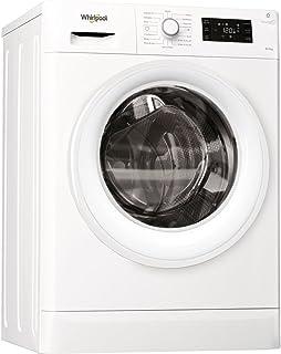 Whirlpool Freestanding Washer Dryer, 8/ 6 kg, White - FWDG86148WGCC, 1 Year Warranty