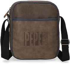 Bandolera grande Pepe Jeans Max marrón