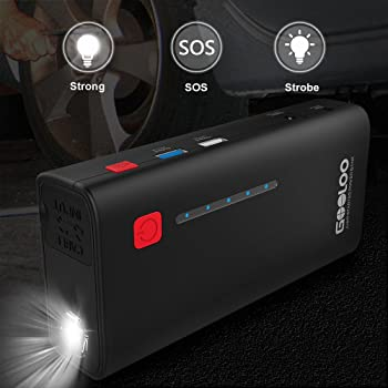 GOOLOO 1200A Peak 18000mAh SuperSafe Car Jump Starter with USB Quick Charge 3.0 (Up to 7.0L Gas or 5.5L Diesel Engine...