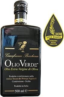 Olio Verde Olio Novello Extra Virgin Olive Oil, 2018 Harvest