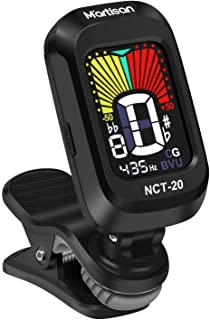 NEUMA Clip-On Tuner for Guitar,Bass,Ukulele,Violin,Viola,Chromatic Tuning Modes,360 Degree Rotating, Fast & Accurate, Easy...