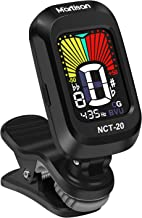 MARTISAN Clip-On Tuner for Guitar, Bass, Ukulele, Violin, Viola, Chromatic Tuning Modes,360 Degree Rotating, Fast & Accura...