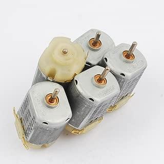5 Pcs 3V DC6V-12V 130 Motor Strong Magnetic Carbon brush 6400RPM-13000RPM Diy Mini Hair Dryer