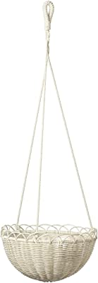 "Ikea TSSP Hanging Planter, in/Outdoor white27 cm (10 ¾ "")"