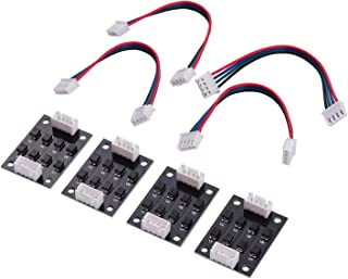 Tooart 4pcs TL-Smoother V1.0 Addon Module for 3D Printer Motor Drivers Accessories Parts