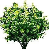 REFURBISHHOUSE Plantas Artificiales Faux Arbustos De...