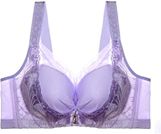 Women's Comfortable Soft Support Lining Lace Wire-Free Bra