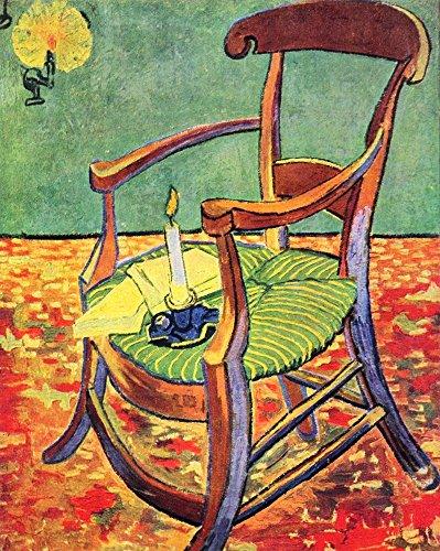 Il Museo outlet–Paul Gauguin 's Sedia comprare online di Van Gogh–Stampa su tela (76,2x 101,6cm)