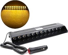 SANON 12V 12Led Voertuig Auto Voordek Grille Led Strobe Flitslicht Noodgeval Waarschuwing Stroboscoop Dagrijverlichting