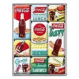 Nostalgic-Art Retro Kühlschrank-Magnete Coca-Cola Delicious – Geschenk-Idee für...