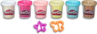 Play-Doh - Confetti Compound - Variety Pack - Inc Cutters & 6 Cans Of Confetti Compound - sensory and educational craft to...