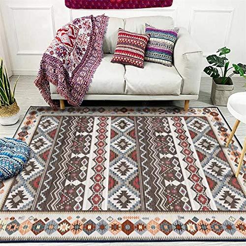 ANBAI Alfombra de estilo persa de gran área abstracta flor arte alfombras para sala de estar dormitorio antideslizante alfombra de cocina