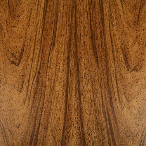 Pellicole adesive effetto legno Noce francese, Foglio adesivo, foglio decorativo, foglio decorativo, foglio autoadesivo, PVC, senza ftalati, legno, 45 cm x 3 m, Venilia 53150