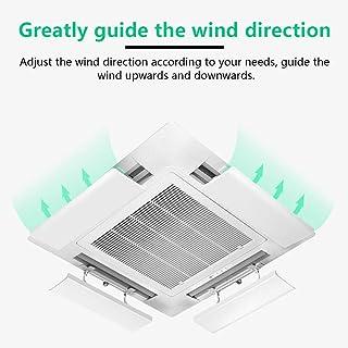 lingzhuo-shop Aire Acondicionado Parabrisas Deflector Accesorios de Aire Acondicionado para el hogar y la Oficina