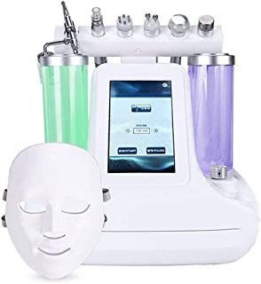 7 in 1 Small Bubble Face Skin Beauty Instrument Ultra-Micro Suction Blackhead Water Oxygen Hydrating Cleaning Instrument Beauty